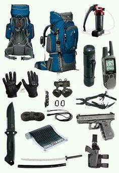 Survival gear.
