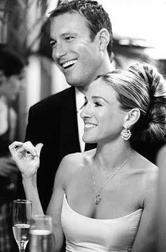 carrie & aidan. Loved them too! My #1 crush- John Corbett