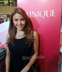 #WhereIsStarStudio - At the #CliniquePop makeup event at SM Megamall Fashion Hall with Gretchen Fullido