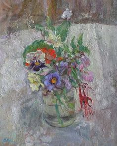 Flowers in February by Diana Armfield RA