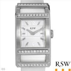 $829.00  RAMA SWISS WATCH Made in Switzerland Brand New Watch With 0.73ctw Genuine  Clean Diamonds  - Certificate Available.