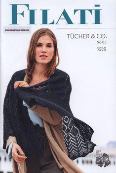 Filati Tucher & Co 3 2019 Knitting Books, Knitting For Kids, Lace Knitting, Knit Crochet, Knitting Magazine, Crochet Magazine, Book And Magazine, European Fashion, European Style
