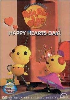 : Rolie Polie & Olie 3 D Animation 6 Stories plus BONUS Episodes of Franklin and other characters Computer Animation, 3d Animation, Baby Bot, Happy Hearts Day, The Jetsons, Heart Day, Movie Gifs, Baby Needs