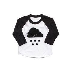 Kawaii Cloud Baseball T-Shirt from Whistle & Flute