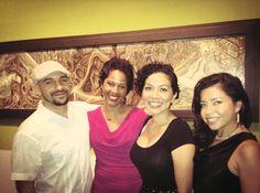 With Daniel Jose Older, Aurora Anaya-Cerda & Blanca E. Vega. Never let it be said that bookworms aren't fashionable!