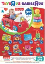 66ac9d73bb8e Toys R Us Flyer  Low Prices on Fisher-Price Products - Starts 13 Nov 2013.  TopBargains · Kids Toy Sale Catalogues