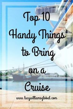 Here are my top 10 handy things to bring on a cruise that make life a little easier when on a cruise vacation. As a cruise expert that spends most. Packing List For Cruise, Cruise Tips, Cruise Travel, Cruise Vacation, Vacations, Honeymoon Cruises, Packing Lists, Royal Caribbean, Caribbean Cruise