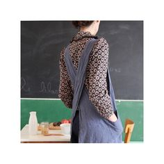 Style japanese apron and robes on pinterest for Couleur lin clothing