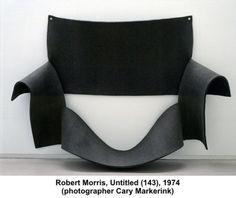 UNTITLED / FELT / 1974 / ROBERT MORRIS