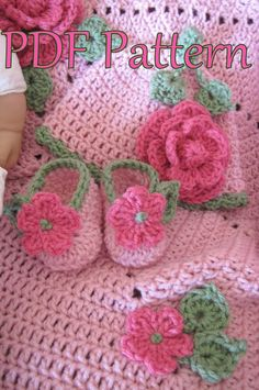 PDF Crochet Pattern Ring Around the Rosie Baby door BellaCrochet