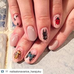 #avarice #art #nails #nailart #design #nailart #nailsalon #nailsalonavarice #原宿 #表参道 #日本ネイル #japannailart #個性派ネイル #手描きネイル #アバリス #アート #ネイル #ネイルアート #ネイルサロンアバリス #手描き #デザイン #アートネイル #虫 #昆虫 #insect