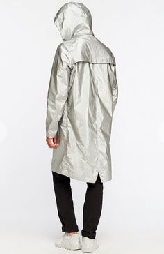 2017: Men's Silver Raincoat by Oh, my! from St. Petersburg, Russia