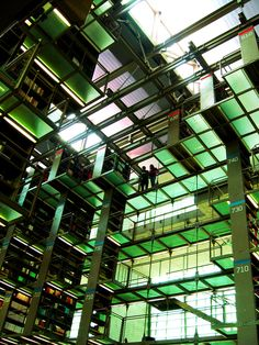 José Vasconcelos Library in Mexico City, Mexico | 16 Libraries You Have To See Before You Die