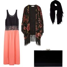 Hijab Outfit #5 by aleenaumps on Polyvore featuring polyvore fashion style H&M Zara Charlotte Olympia Faliero Sarti