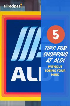 """5 Tips for Shopping at Aldi Without Losing Your Mind   """"If you're ready to take the plunge into this bargain-hunter's paradise, these tips will help you make the most of an Aldi shopping trip:"""" #cheaprecipes #cheapmeals #budgetfriendly #budgetrecipes #frugalcooking #frugalmeals #cheapdinnerideas #cheap #budget #economical #frugal Aldi Store, Aldi Shopping, Shopping Hacks, Cheap Recipes, Cheap Meals, Discount Grocery, Latest Celebrity Gossip, Lose Your Mind, Good And Cheap"""