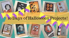 Debbie's Designs: 10 Days of Halloween Projects Day #2!