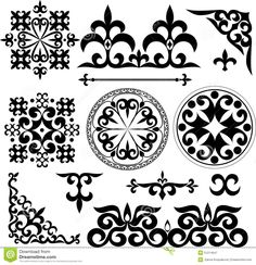 Kazakh Patterns