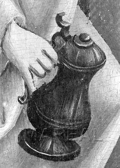 Werke der Barmherzigkeit;Fremde beherbergen Kunstwerk: Temperamalerei-Holz ; Einrichtung sakral ; Flügelaltar ; Meister S. H. von 1485 ; Oberösterreich  Dokumentation: 1490 ; 1500 ; Linz ; Österreich ; Oberösterreich ; Schloßmuseum  Anmerkungen: 174x87