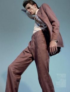 Finnlay Davis by Robbie Fimmano for L'Officiel Hommes