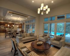 Another large room for den, dining and kitchen.  Cornerstone Architcts Design, Pictures, Remodel, Decor and Ideas - page 23