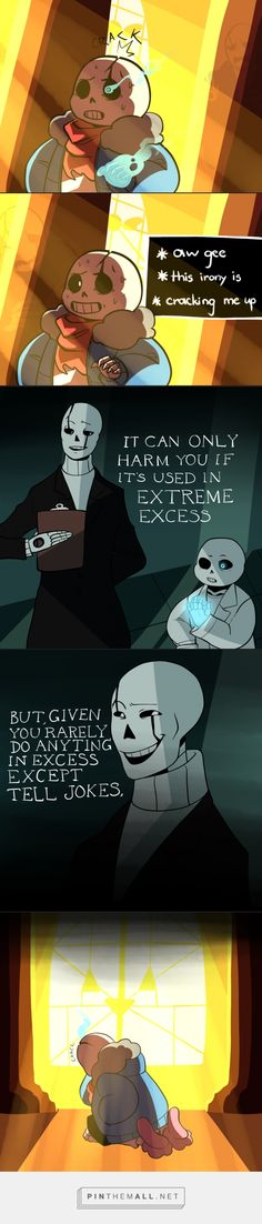 Sans and Gaster - comic