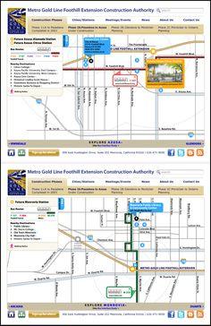 64 best go metro la images on pinterest public transport interactive maps for metro gold line publicscrutiny Gallery