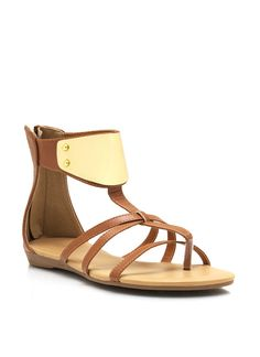 Strappy Faux Leather Sandals $23.40