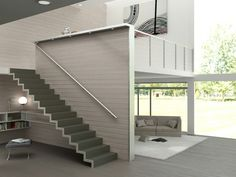 Escalier flottant LASER WING Collection Laser by Novalinea