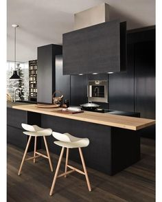 """Modern Kitchen #kitchen #modern #interior #interiors #interiordesign #design #architecture"" via @homeadore"