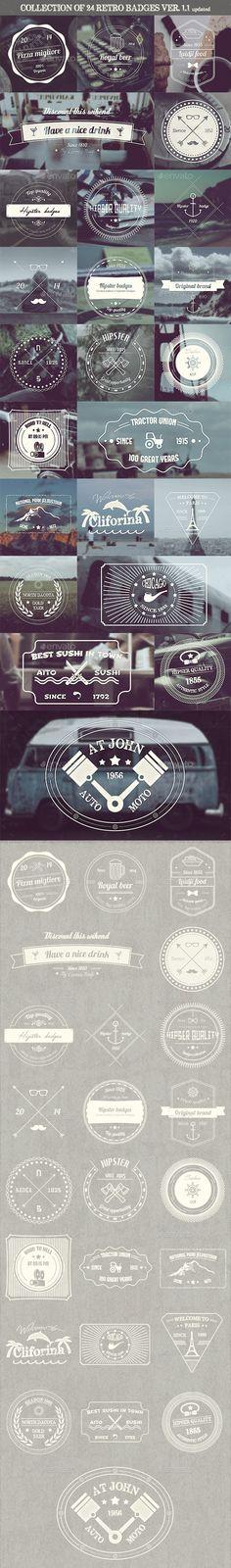Simple Badges - Badges & Stickers Web Elements