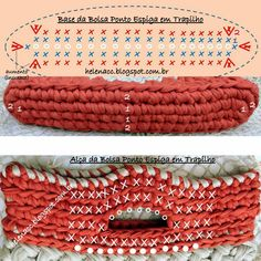How To Crochet A Shell Stitch Purse Bag - Crochet Ideas Crochet Diagram, Crochet Chart, Love Crochet, Filet Crochet, Bead Crochet, Crochet Stitches, Crochet Baby, Crochet Patterns, Crochet Squares