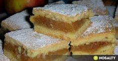Szabolcsi olcsó almás porlós - Almás pite 8. recept képpel. Hozzávalók és az elkészítés részletes leírása. A szabolcsi olcsó almás porlós - almás pite 8. elkészítési ideje: 75 perc Hungarian Desserts, Hungarian Recipes, Hungarian Food, Fall Bake Sale, Baking Recipes, Cake Recipes, Homemade Sweets, Salty Snacks, Fall Baking