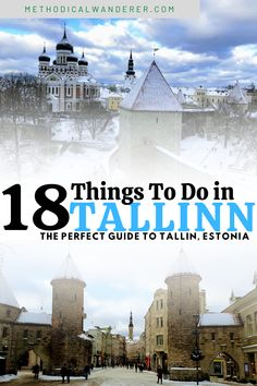 18 Incredible Things To Do In Tallinn, Estonia. There are so many wonderful things to do in Tallinn. This Baltic city is one of Europe's most interesting holiday destinations. This medieval city has so much to offer every kind of traveller. #Tallinn #Estonia #Europe #travel Europe Train Travel, Road Trip Europe, Backpacking Europe, Europe Travel Guide, Ireland Travel, Travel Guides, Estonia Travel, European City Breaks, North Europe