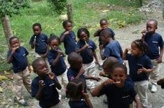 Makarios is a school in the Dominican Republic that teaches the children of families in poverty English and skills to make them useful members of society in order to give them and their families a future. IN ORDER TO GIVE THEM FUNDING, BUY YOUR TEXTBOOKS NEXT SEMESTER THROUGH THIS SITE and Makarios School gets a percentage! HELP THESE KIDS!!