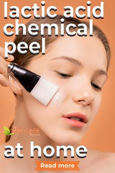 Want to do lactic acid chemical peel at home? Here are some tips and the best products to consider. Jump to theskincarereviews.com #lacticacidpeelathome #bestlacticacidpeel #lacticacidchemicalpeel Skin Care Remedies, Acne Remedies, Lactic Acid Peel, Chemical Peel At Home, Skin Care Routine For Teens, Best Acne Products, Skin Specialist, Healthy Skin Care, Lip Art