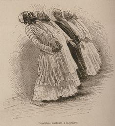 Howling Dervishes-Rifayah Order-1883