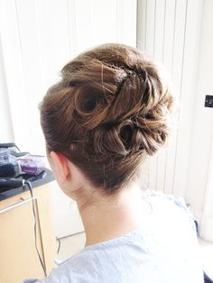 A soft Up Do for Rebecca's Wedding in Edinburgh. Bridal Hair And Makeup, Hair Makeup, Some Image, Edinburgh, Circles, Scotland, Stylists, Wedding, Beautiful