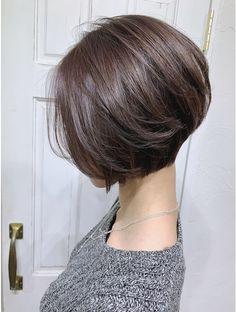 Pin on ヘアースタイル Asian Short Hair, Short Hair Cuts, Chin Length Hair, Cabello Hair, Gorgeous Hair Color, Shot Hair Styles, Short Bob Haircuts, Hair Decorations, Scarf Hairstyles
