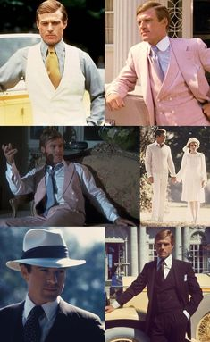 Jay Gatsby – Played By Redford. I don't think I could do the pink suit, but I WILL do the linen.