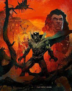 c8f9ba9b1 Back Panther Super Herói, Heróis Marvel, Black Panther Marvel, Melhores  Quadrinhos, Arte