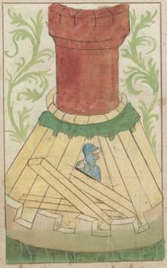 Kriegstechnik (Bilderhandschrift) Oberrhein · um 1420-1440 Ms. Rh. hist. 33b  Folio 160