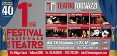 Teatro Tognazzi Velletri Festival Nazionale di Teatro Festival, Movie Posters, Movies, Theater, Film Poster, Films, Movie, Film, Movie Theater