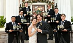 Kathy G. & Co. | j. messer photography | Southern Wedding Champagne Service