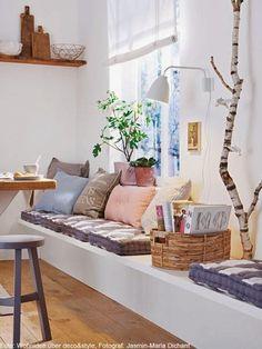 EN MI ESPACIO VITAL: Muebles Recuperados y Decoración Vintage: De obra { Concrete furniture }