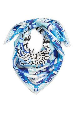 Emilio Pucci 'Cupola New Show' Silk Scarf available at #Nordstrom