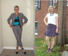 What We Wore: Fall Tweed   Two Take on Style