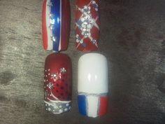 of july nail designs - Yahoo Image Search Results July 4th Nails Designs, 4th Of July Nails, Nail Designs, Happy July, Blue Nails, Nail Art, Cheryl, Image Search, Red