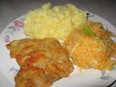 #schabowy #PRL Polish Recipes, Polish Food, Meat, Chicken, Kitchen, Google Search, Kitchens, Cooking, Polish Food Recipes