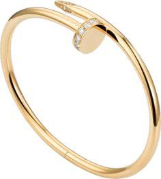 Bracelet Juste Un Clou, Bracelet Clou, Cartier Nail Bracelet, Cartier Armband, Bracelet Rose Gold, Bracelets Roses, Cartier Jewelry, Diamond Bracelets, Love Bracelets