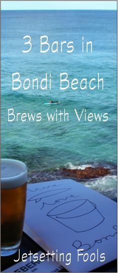 3 bars in Bondi Beach: Brews with views :Vue is amazing. Bondi Beach Australia, Sydney Australia, Australia Travel, Study Abroad Australia, 42 Wallaby Way, Society Islands, Fiji Travel, Sydney Beaches, Visit Sydney